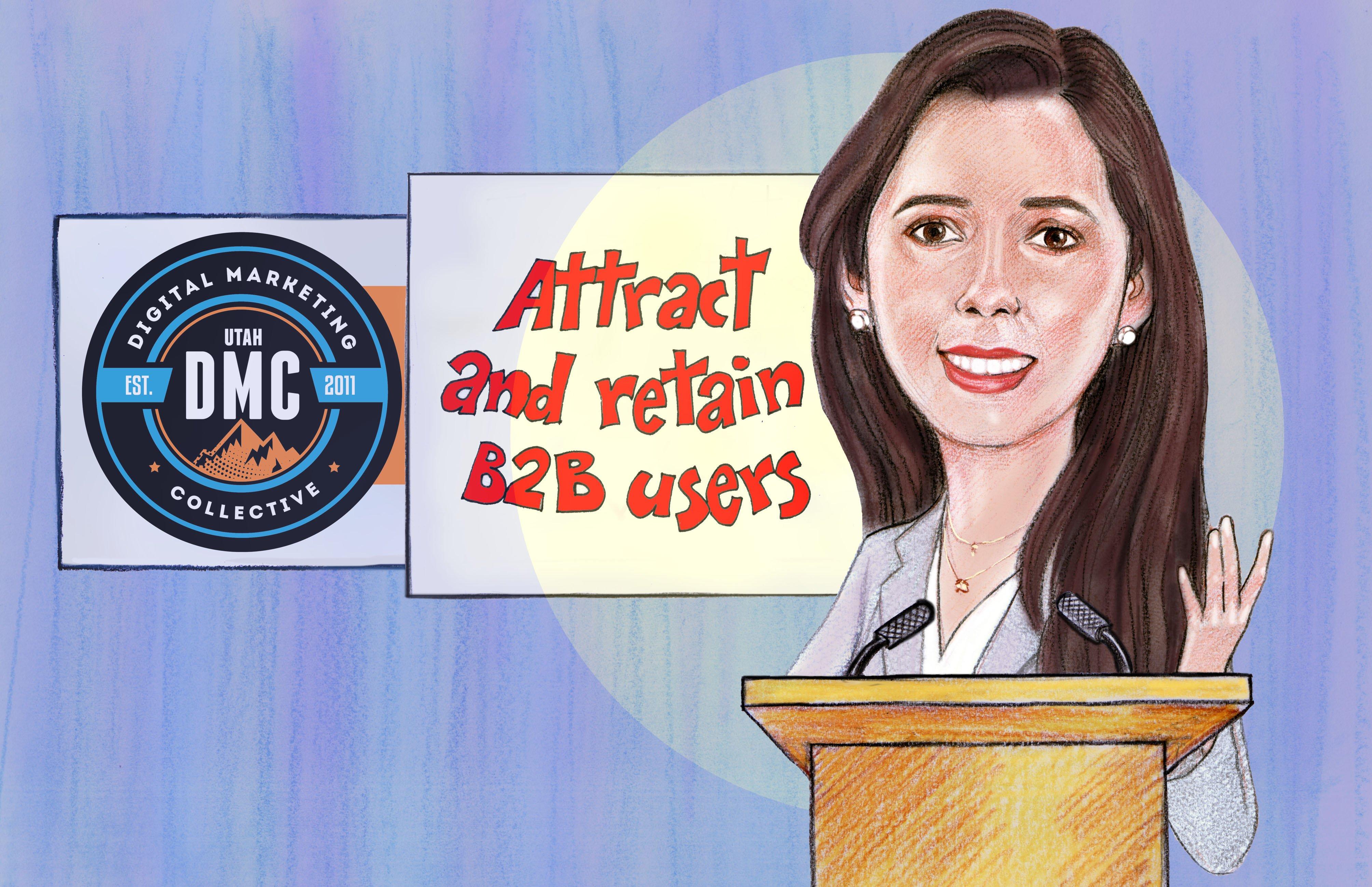 Andrea Cruz Utah DMC Cartoon
