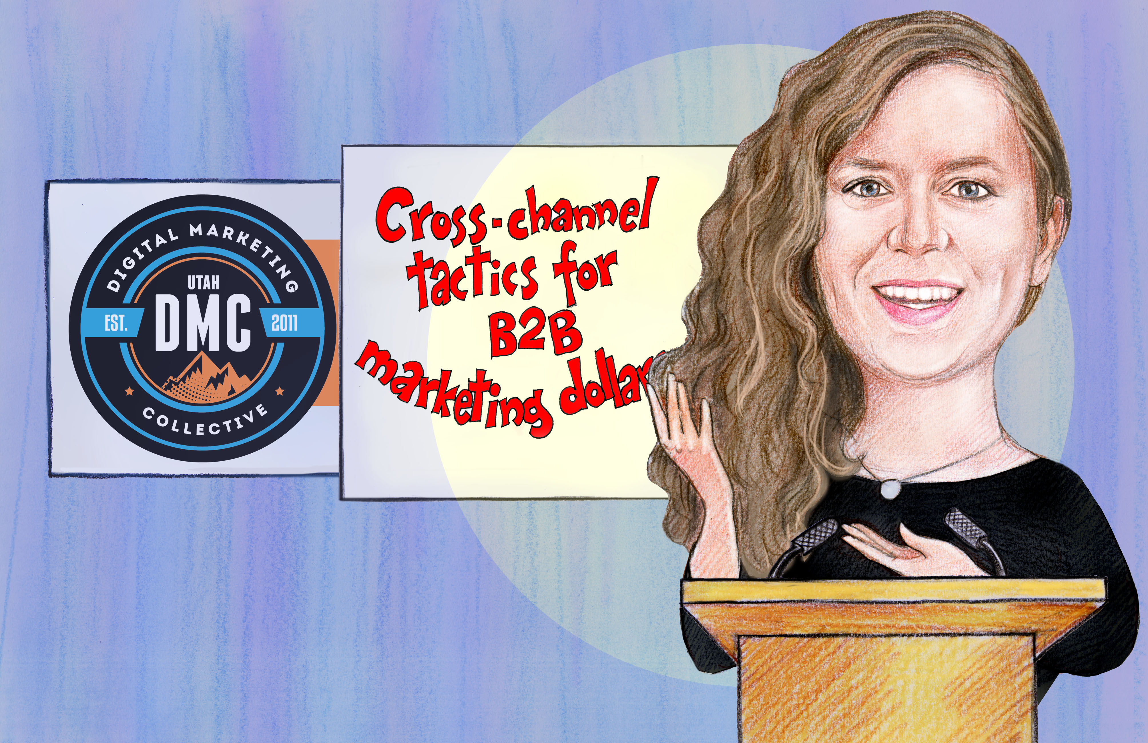 Emma Franks Utah DMC Cartoon