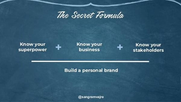 The Secret Formula to become a CMO