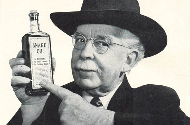 LK 10 snake-oil-salesman