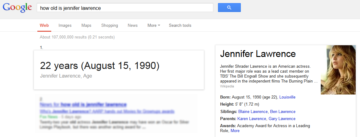 how old is jennifer lawrence