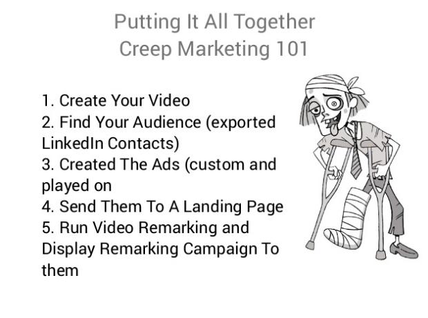 Jace Vernon's Creep Marketing 101 Slide