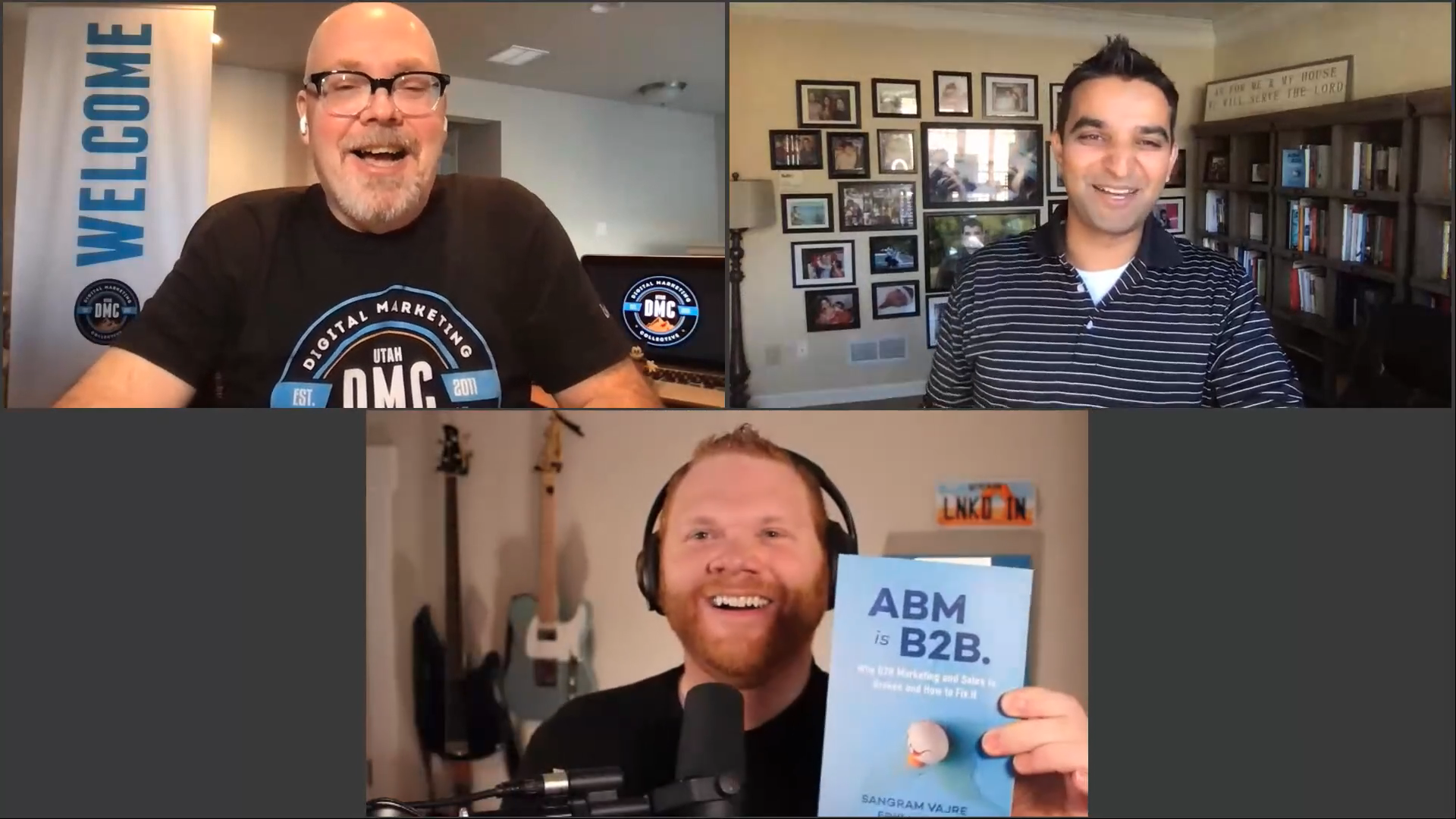 Utah DMC - Sangram Vajre - AJ Wilcox - Darin Berntson - The Secret Formula to become a CMO