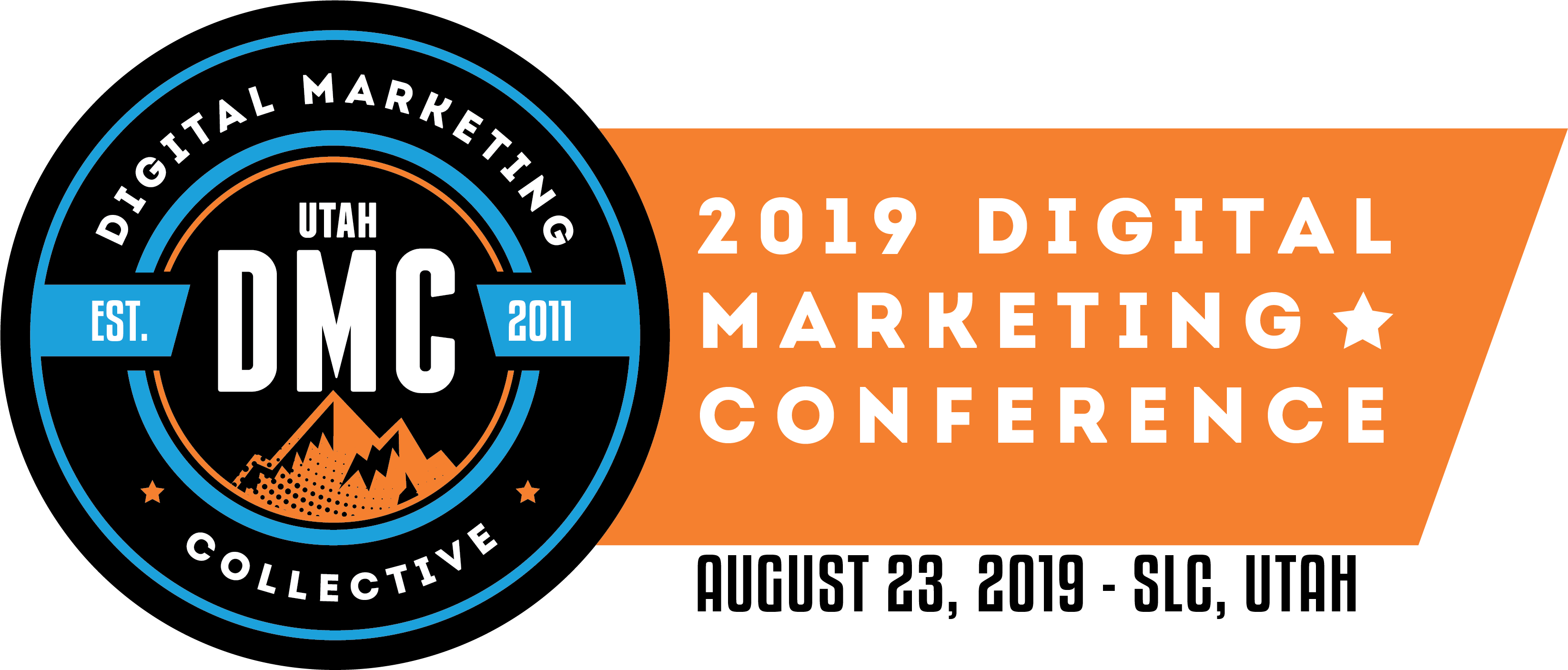 Utah DMC Conference 2019 Logo with Date