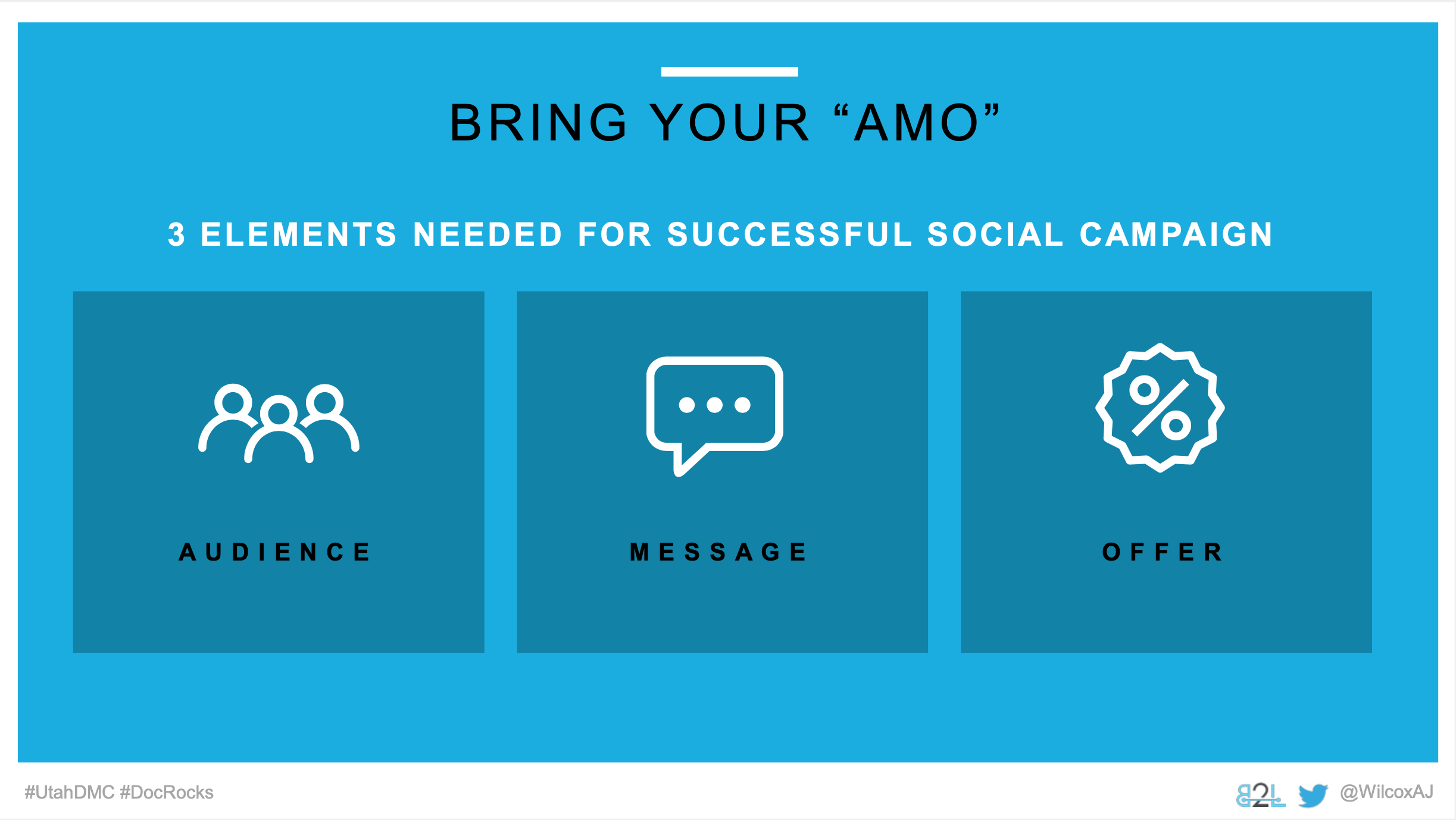 Utah DMC LinkedIn Ads - Aj Wilcox - Bring Your AMO