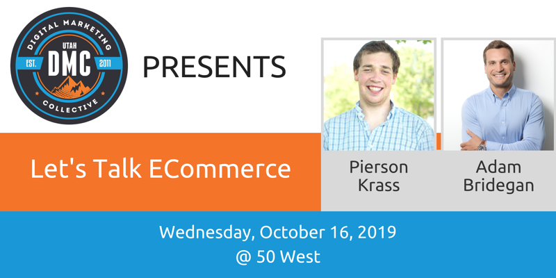 Utah DMC October 2019 eCommerce