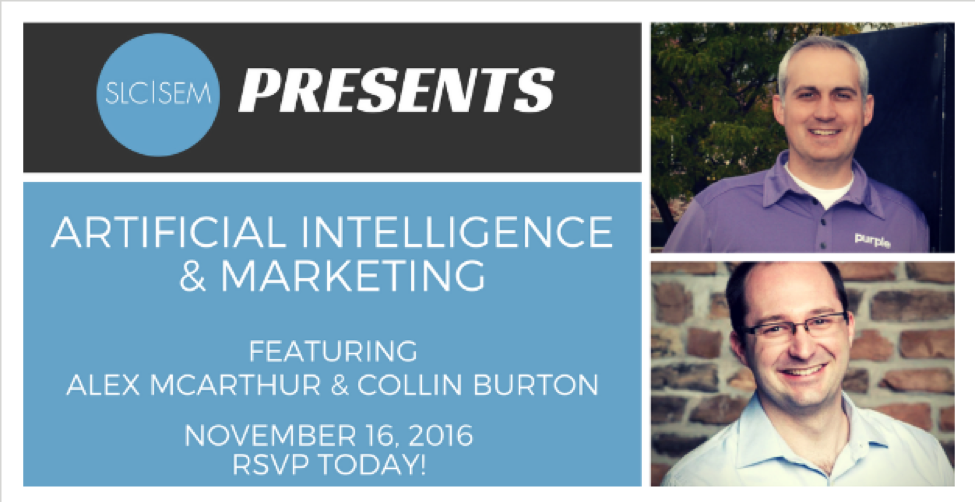 [Recap] Artificial Intelligence & Marketing - November 2016