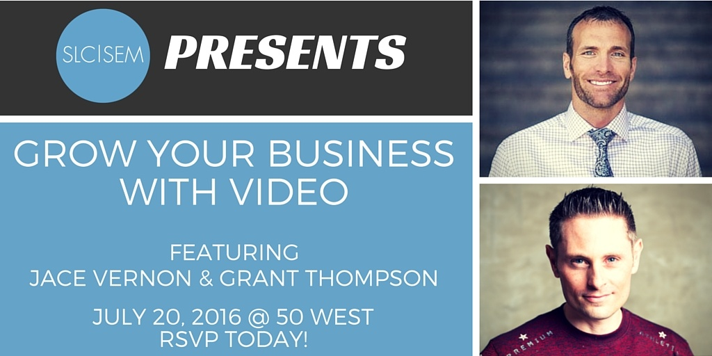 [Recap] Grow Your Business with Video - July 2016