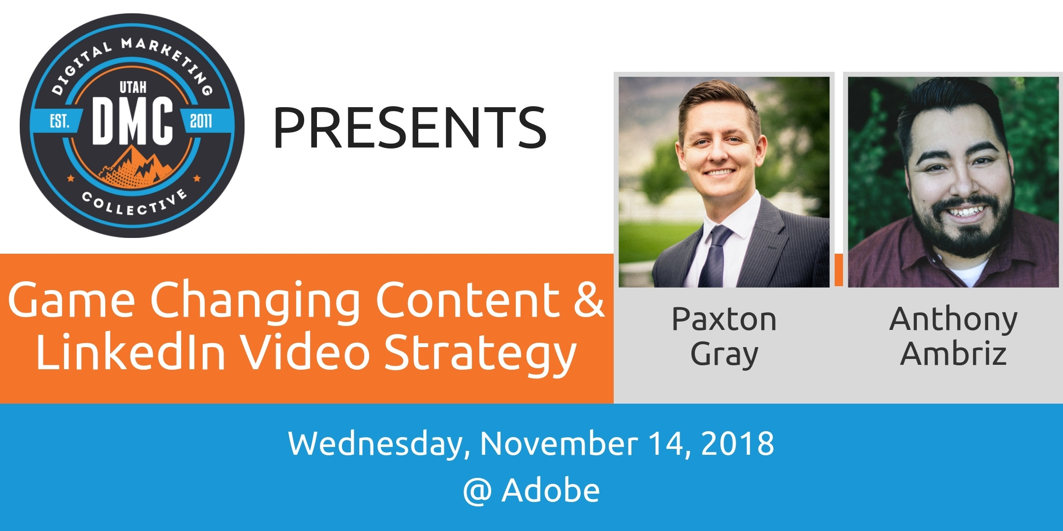 Game Changing Content & LinkedIn Video Strategy - November 2018 Recap