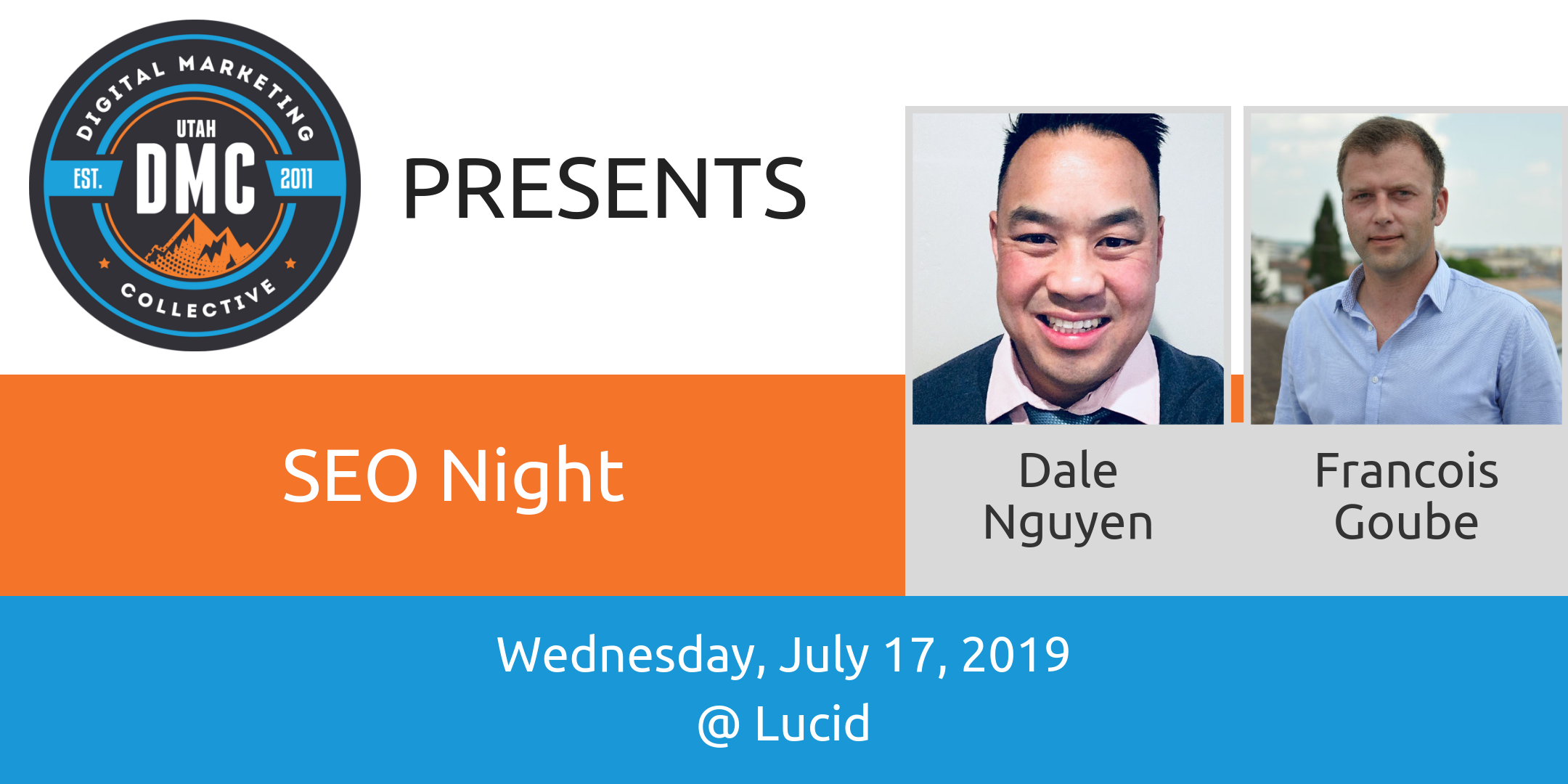 SEO Night | Utah DMC Recap – July 2019
