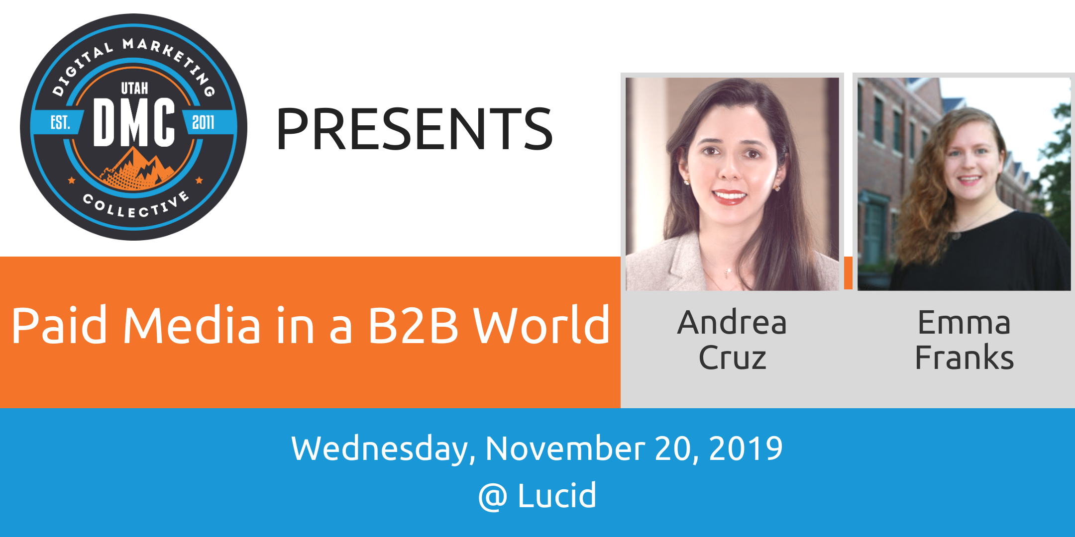 Paid Media in a B2B World | DMC Recap November 2019
